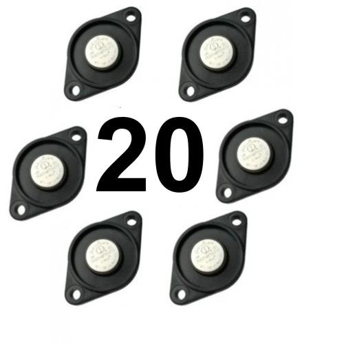 Pack com 20 Buttons para Ronda Viggia TopData
