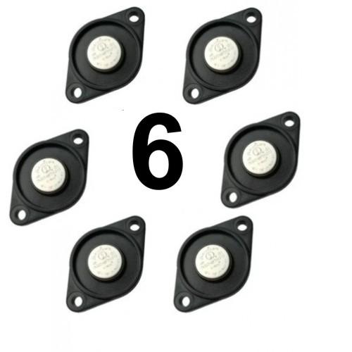 Pack com 6 Buttons para Ronda Viggia TopData